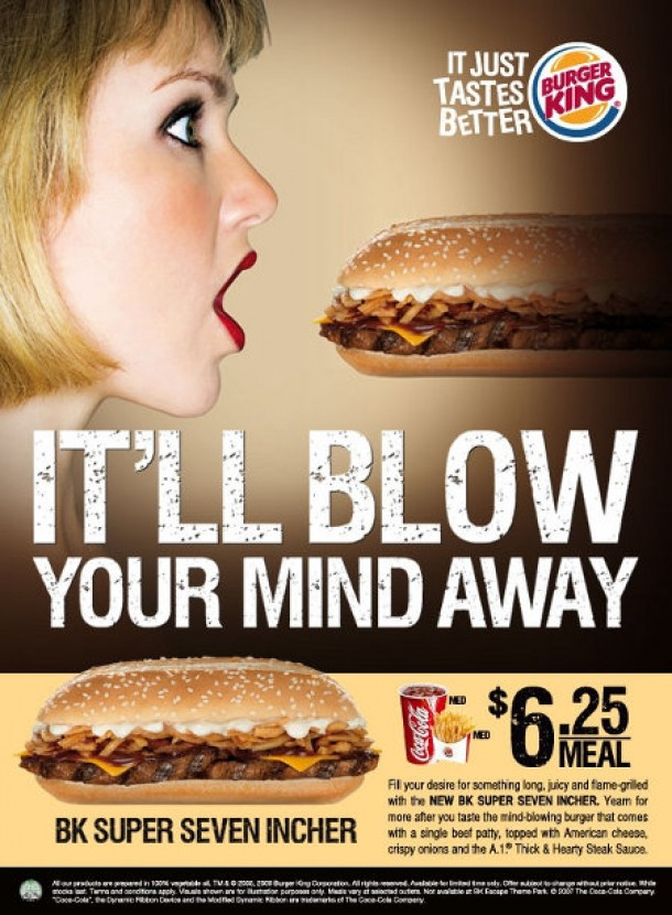 Burger king blow your mind
